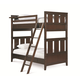 Universal Smartstuff Freestyle Twin Bunk Bed in Mocha 1371530