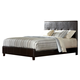 Homelegance Avelar Queen Platform Bed in Cherry 2100-1