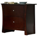 Homelegance Avelar Nightstand in Cherry 2100-4