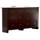 Homelegance Avelar Dresser in Cherry 2100-5