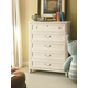 Universal Smartstuff Gabriella Drawer Chest in Lace 136A010 SPECIAL