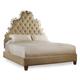 Hooker Furniture Sanctuary Queen Tufted Bed in Beige