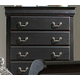 Homelegance Bastille Chest in Black 599BK-9