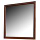 Homelegance Bleeker Mirror in Brown Cherry 2112-6