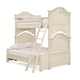 Universal Smartstuff Gabriella Twin Over Full Bunk Bed in Lace 136A590