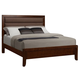 Homelegance Bleeker Queen Panel Bed in Brown Cherry 2112-1
