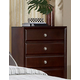 Homelegance Bridgeland Chest in Dark Cherry 879-9