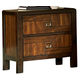 Homelegance Brumley Nightstand in Burnish Cherry 2101-4