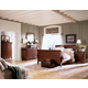 Kincaid Chateau Royale Solid Wood Sleigh Bedroom Set in Aged Maple