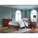 Kincaid Chateau Royale Solid Wood Low Profile Bedroom Set in Aged Maple