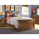 Universal Smartstuff Classics 4.0 Panel Bedroom Set in Saddle Brown