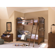 Universal Smartstuff Classics 4.0 Bunk Bedroom Set in Saddle Brown