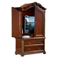 Homelegance Catalina Armoire in Cherry 564-7