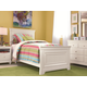 Universal Smartstuff Classics 4.0 Panel Bedroom Set in Summer White
