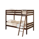 Acme Susana Twin Over Twin Bunk Bed in Espresso 00510