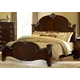 Homelegance Centinela Queen Panel Bed in Dark Cherry 1404-1