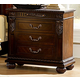 Homelegance Centinela Nightstand in Dark Cherry 1404-4