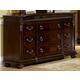 Homelegance Centinela Dresser in Dark Cherry 1404-5
