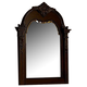 Homelegance Centinela Mirror in Dark Cherry 1404-6