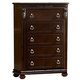 Homelegance Centinela Chest in Dark Cherry 1404-9