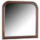 Homelegance Chateau Brown Mirror in Warm Distressed Cherry 549-6