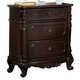Homelegance Cinderella Nightstand in Dark Cherry 1386NC-4