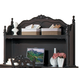 Homelegance Cinderella Bookshelf Hutch in Dark Cherry 1386NC-10