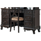Homelegance Cinderella Writing Desk in Dark Cherry 1386NC-11
