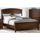 Homelegance Cody Queen Arched Panel Bed in Warm Cherry 1732-1