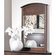 Homelegance Cody Mirror in Warm Cherry 1732-6