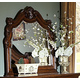 Homelegance Cromwell Mirror in Warm Cherry 2106-6