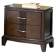 Homelegance Daytona Nightstand in Dark Espresso 1419-4
