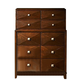 Homelegance Diamond Palace Chest in Dark Cherry 1465C-9