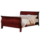 Homelegance Dijon Queen Sleigh Bed in Martini Cherry 953N-1