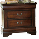 Homelegance Dijon II Nightstand in Warm Distressed Cherry 953NE-4