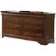 Homelegance Dijon II Dresser in Warm Distressed Cherry 953NE-5
