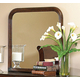Homelegance Dijon II Mirror in Warm Distressed Cherry 953NE-6