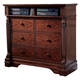 Homelegance English Manor TV Chest in Cherry 834-11