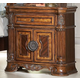 Homelegance Golden Eagle Nightstand in Antique Caramel 1437-4