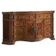 Homelegance Golden Eagle Dresser in Antique Caramel 1437-5