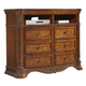 Homelegance Golden Eagle TV Chest in Antique Caramel 1437-11
