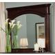 Homelegance Grandover Mirror in Deep Rich Merlot 858-6
