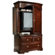Homelegance Grandover Armoire in Deep Rich Merlot 858-7