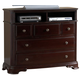 Homelegance Grandover TV Chest in Deep Rich Merlot 858-11