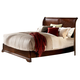 Homelegance Greenfield Queen Platform Bed in Cherry 1740-1