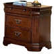 Homelegance Greenfield Nightstand in Cherry 1740-4