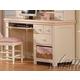 Acme Crowley Student Desk in Cream-Peach 00764