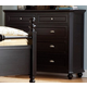 Homelegance Hanna Dresser in Black 889BK-5