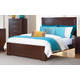 Homelegance Hendrick California King Panel Bed in Cherry 2113K-1CK