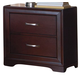 Homelegance Hendrick Nightstand in Cherry 2113-4